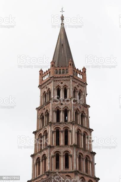 Kościół Saintsernin Tower - zdjęcia stockowe i więcej obrazów Architektura