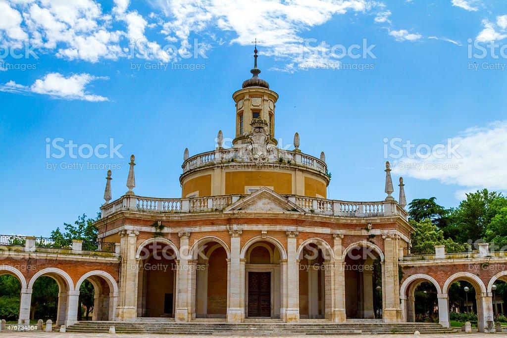 Iglesia de San Antonio en Aranjuez - foto de stock
