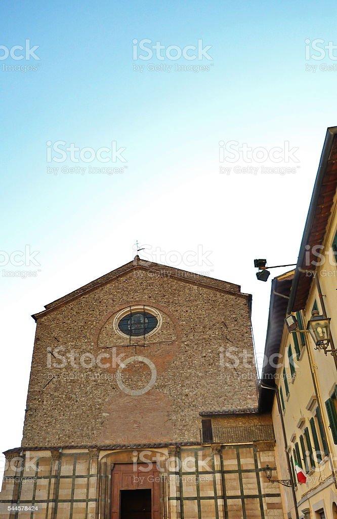 Church of San Domenico, Prato stock photo
