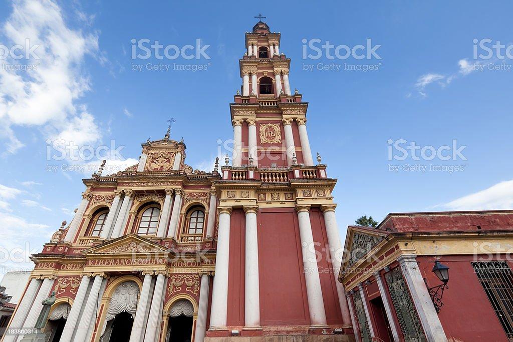 Church of San Francisco in Salta, Argentina royalty-free stock photo