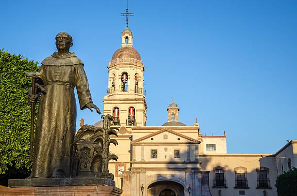 iglesia de san francisco - queretaro fotografías e imágenes de stock