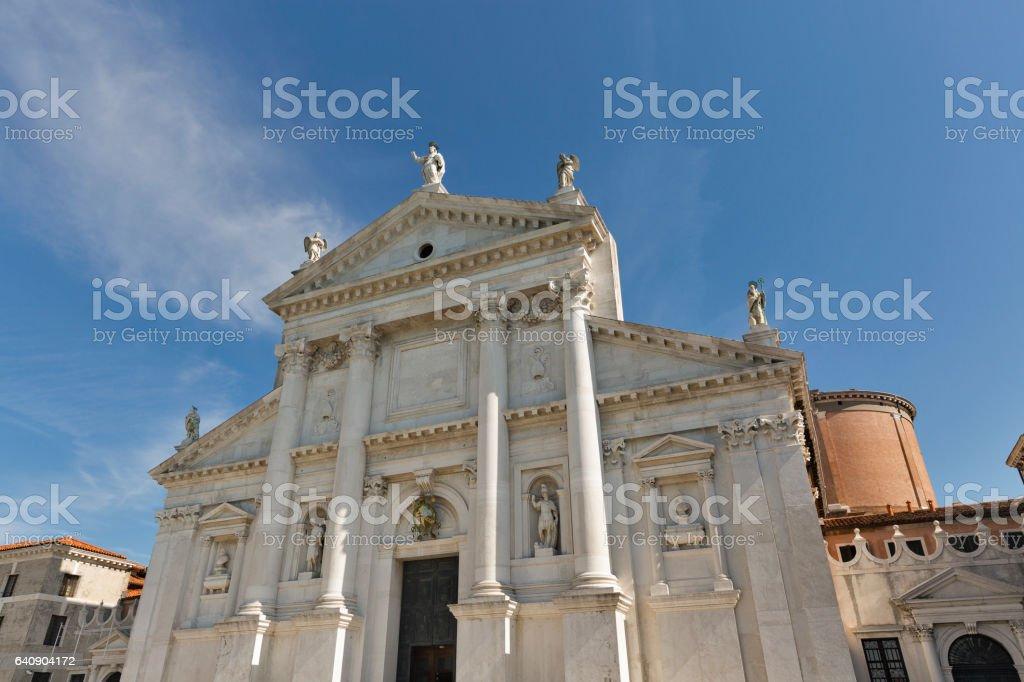 Church of San Giorgio Maggiore in Venice, Italy. stock photo
