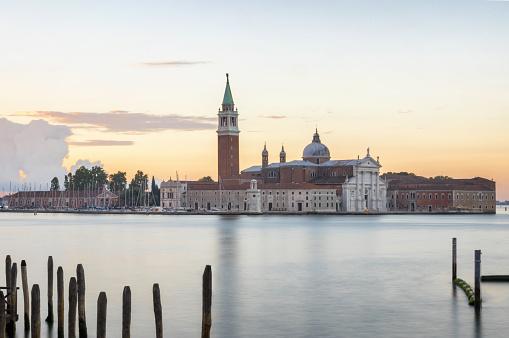 church of san giorgio maggiore venecia venice venezia mornig sunrise