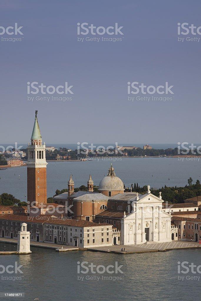 Church of San Giorgio Maggiore Venice Italy royalty-free stock photo
