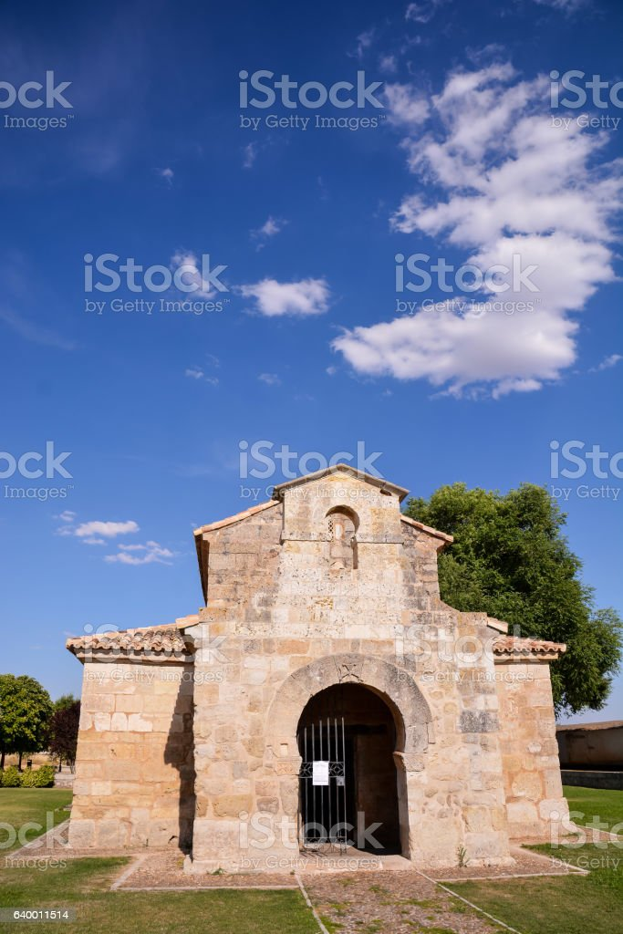 Church of San Juan Bautista stock photo