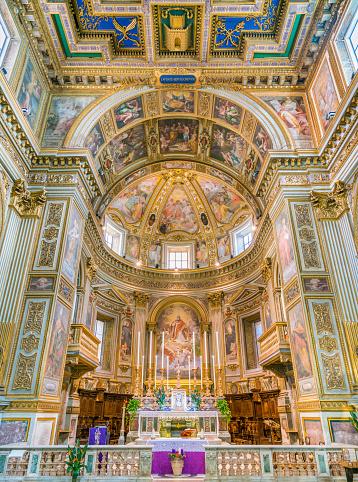 Church of San Marcello al Corso. Rome, Italy