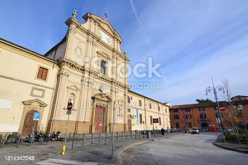 istock Church of San Marco, Florence, Italy 1314342243