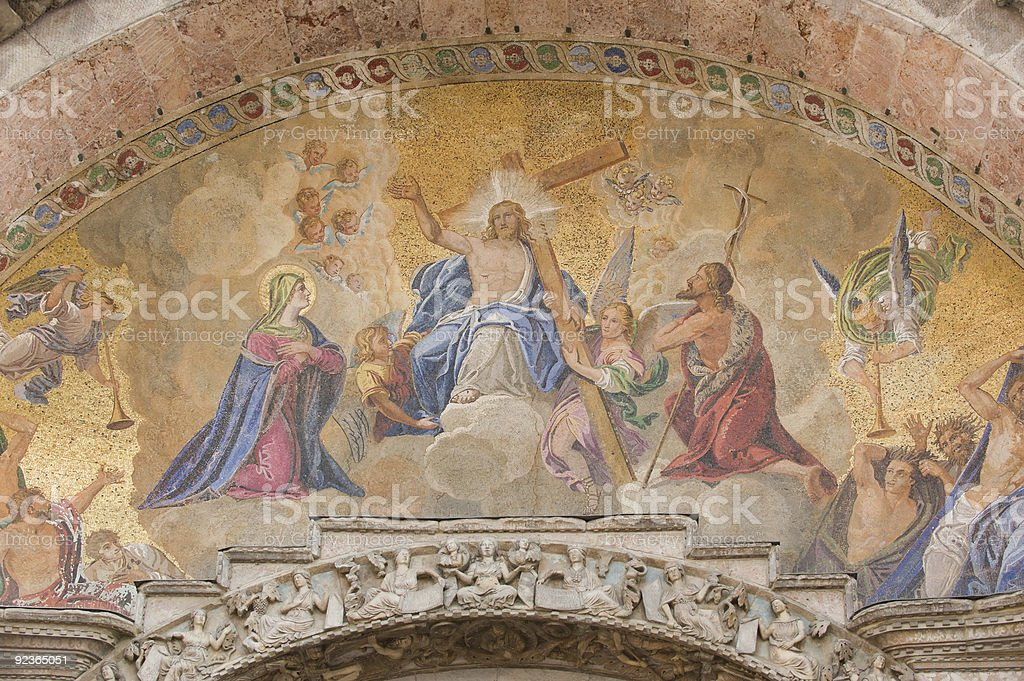 Church of San Marco in Venice royalty-free stock photo
