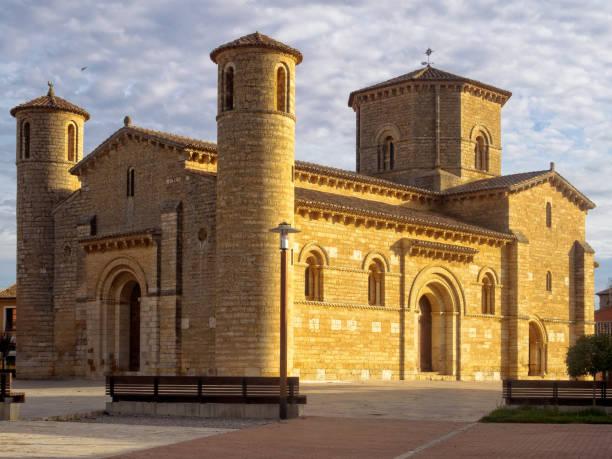 Church of San Martin - Fromista stock photo