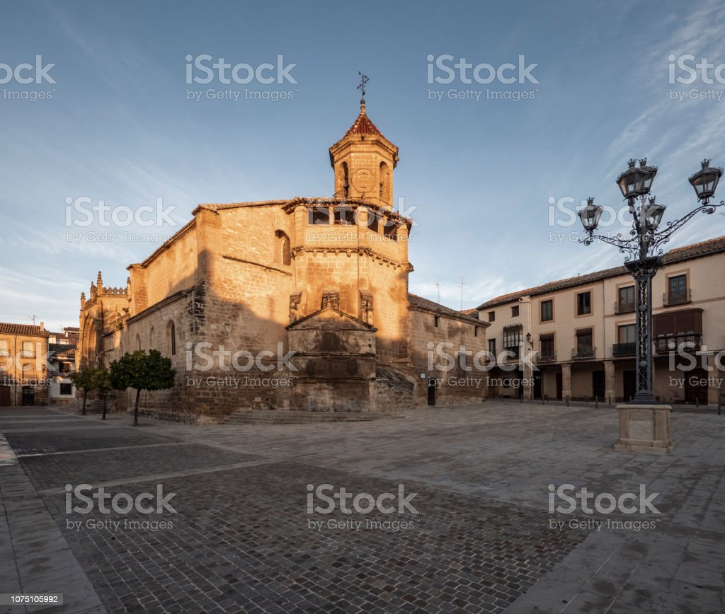 Church of San Pablo in Ubeda Andalusia Spain stock photo