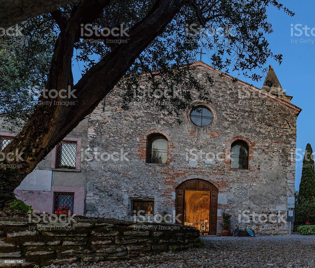 Chiesa di San Pietro in Mavino stock photo