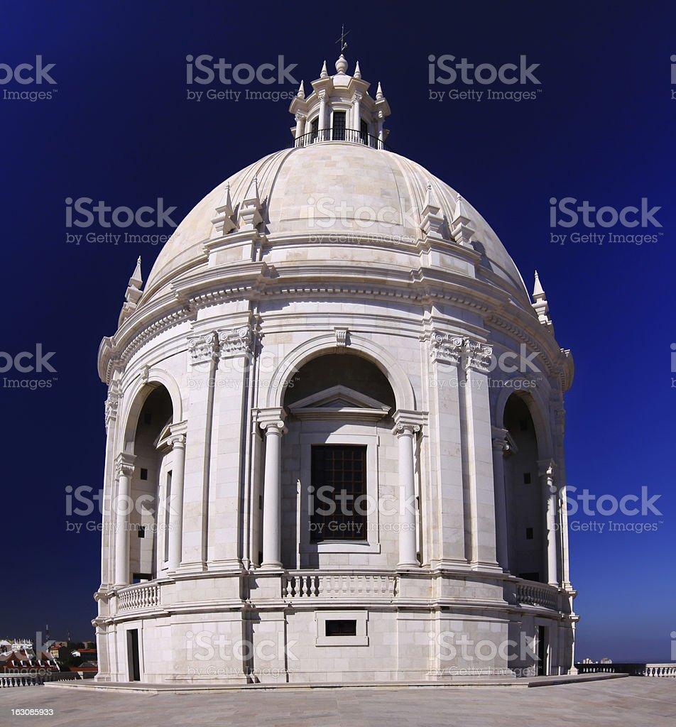 Church of Santa Engrácia - National Pantheon in Lisbon, Portugal stock photo