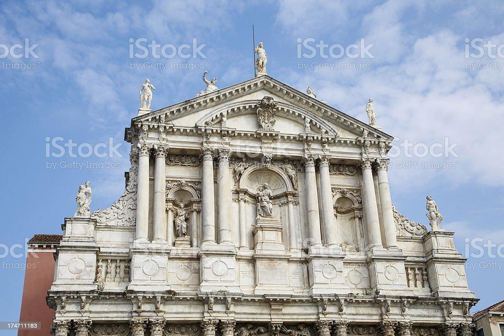 Church of Santa Maria Assunta Under Nice Sky royalty-free stock photo