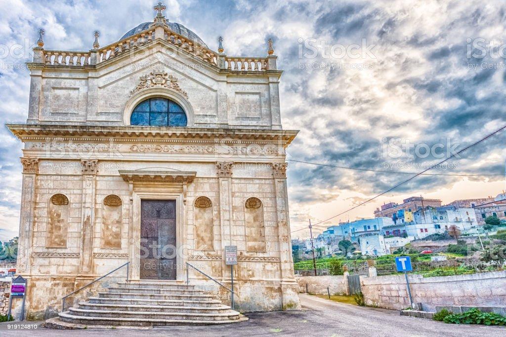 Church of Santa Maria della Grata, Ostuni stock photo