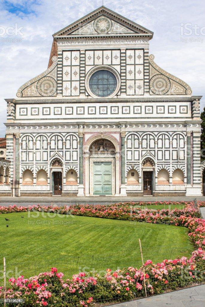 Church of Santa Maria Novella, Florence, Italy stock photo