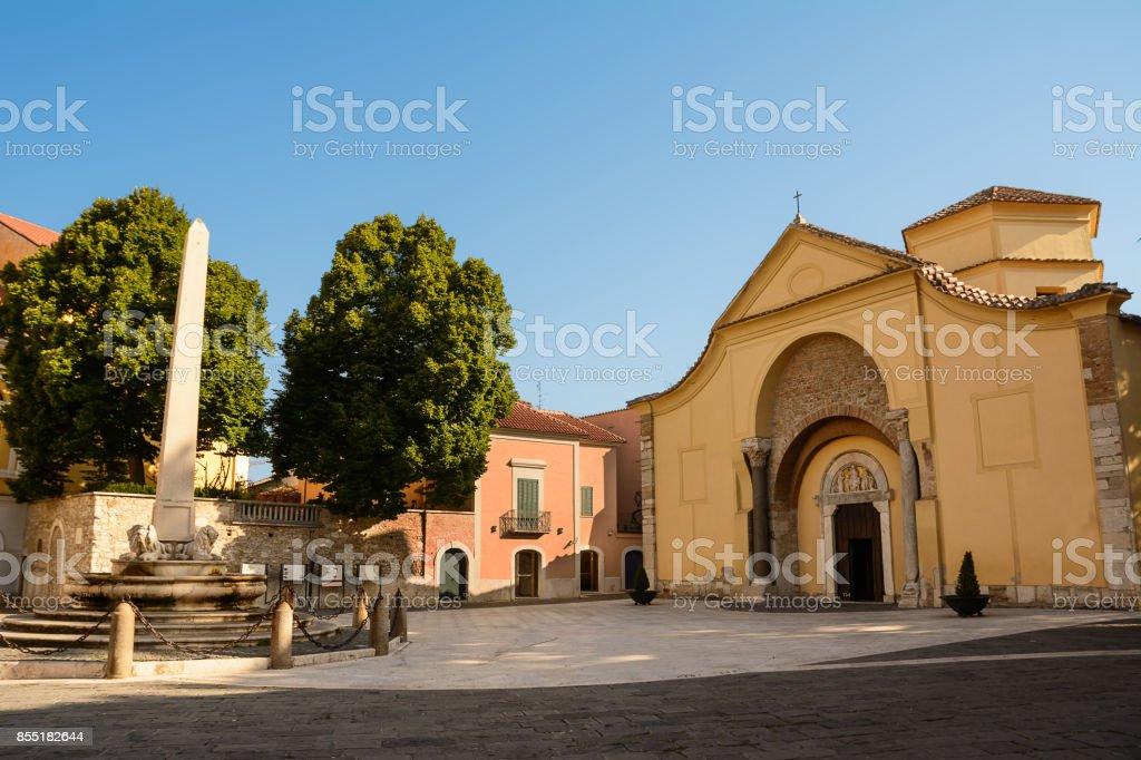 Church of Santa Sofia in Benevento (Italy) - foto stock