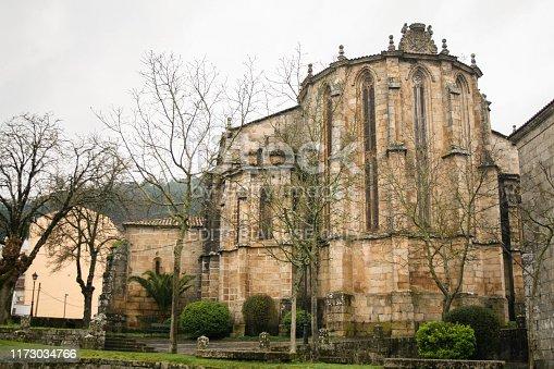 Ribadavia, Orense, Galicia, Spain; 02/08/2008; Facade of the convent and church of Santo Domingo de Ribadavia