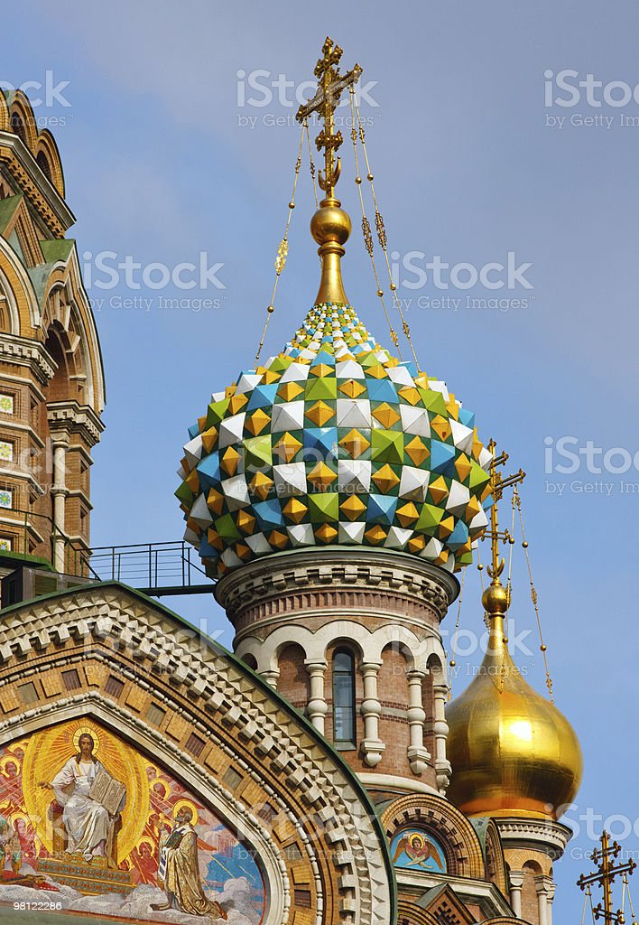 Church of Savior on Spilled Blood royalty-free stock photo