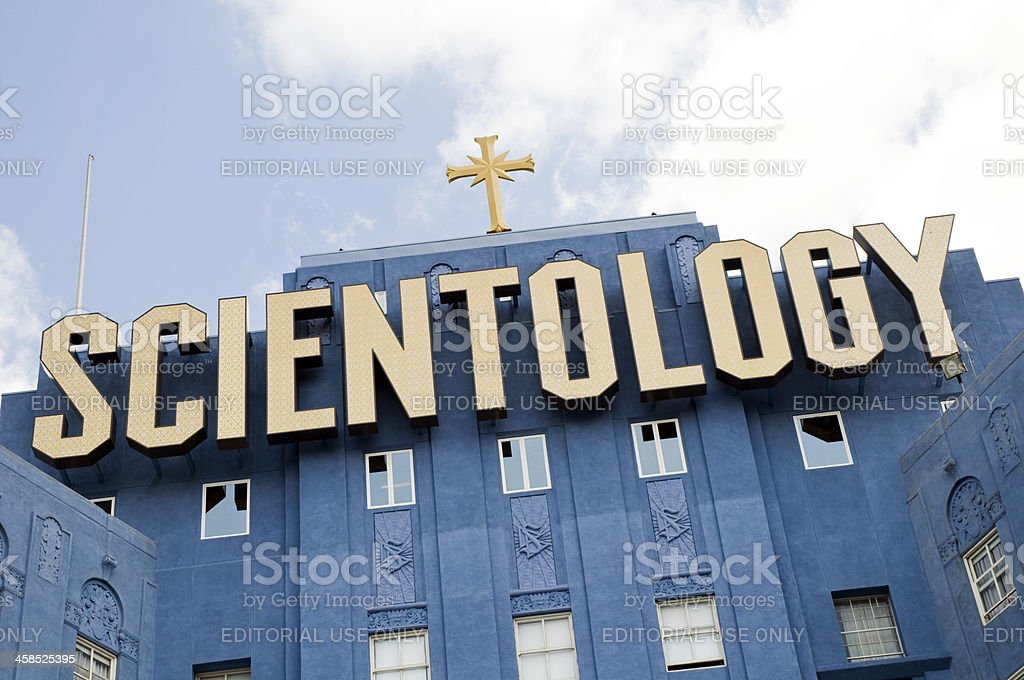 Church of Scientology royalty-free stock photo
