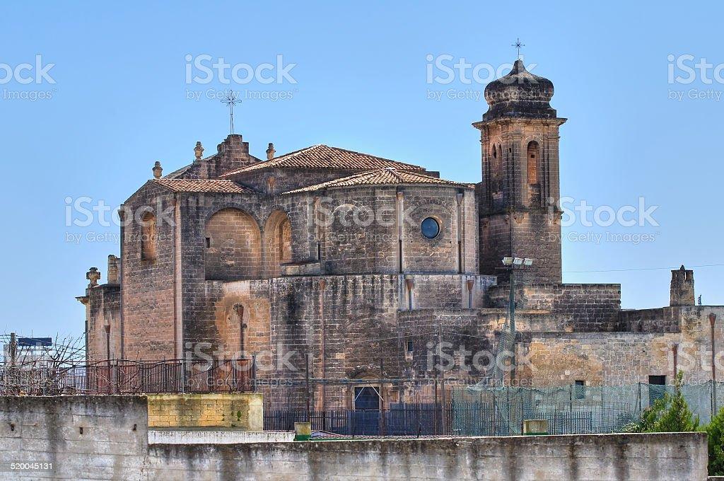 Church of St. Agostino. Massafra. Puglia. Italy. stock photo