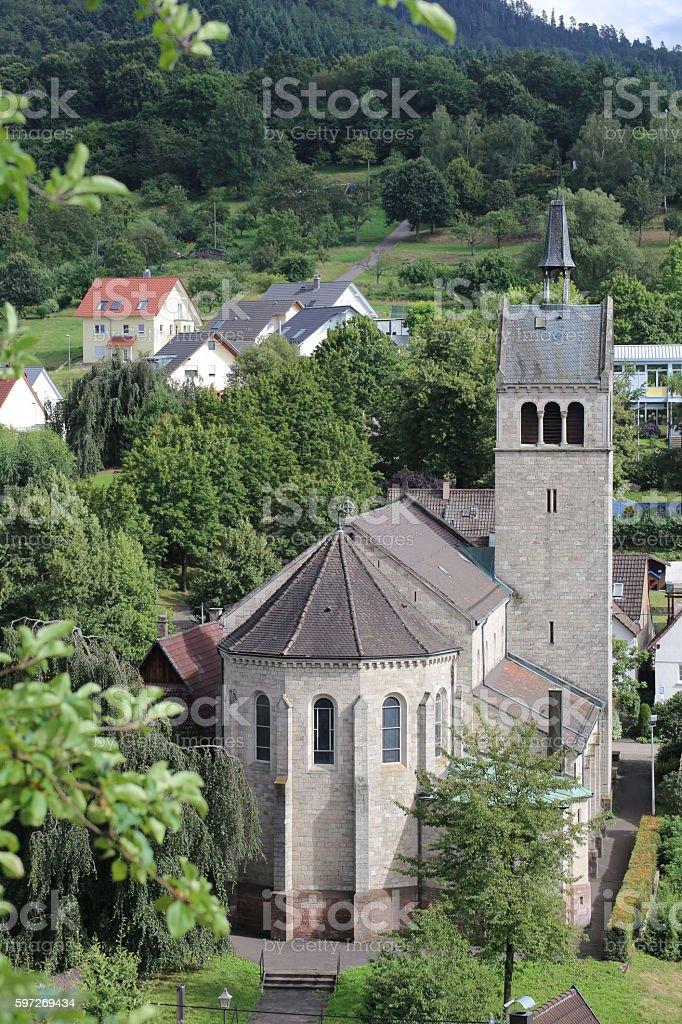 Church of St. Anna in Sulzbach, Gaggenau, Germany royalty-free stock photo