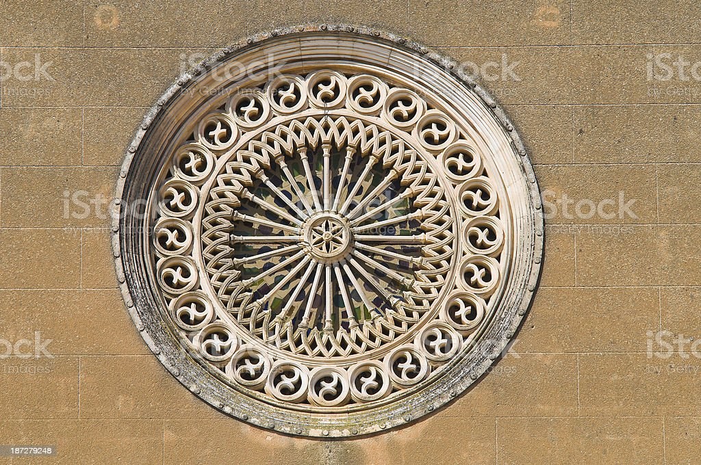 Church of St. Antonio. Manduria. Puglia. Italy. stock photo