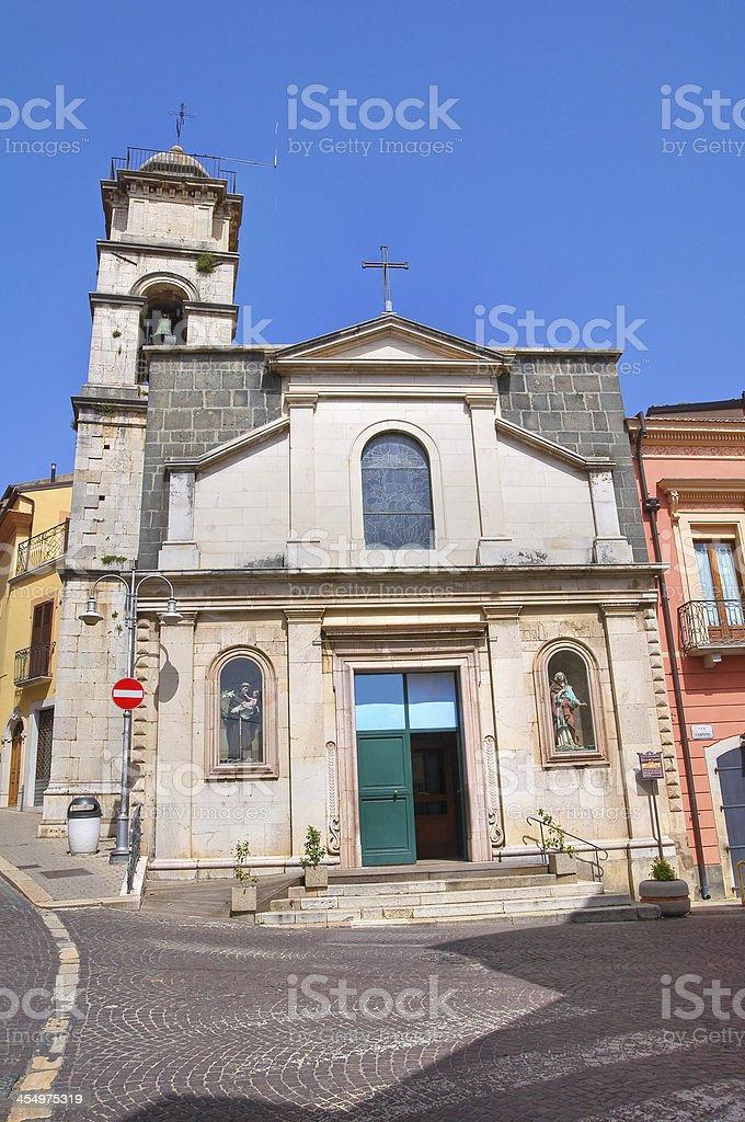 Church of St. Carmine. Melfi. Basilicata. Italy. royalty-free stock photo