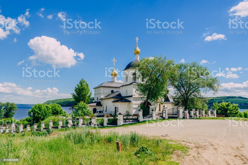 Church of St Constantine and Helena. stock photo