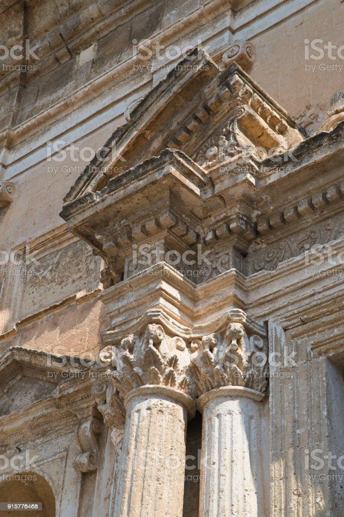 Church of St. Domenico. Castellaneta. Puglia. Italy. stock photo