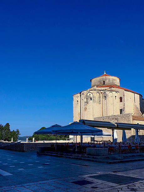 Church of St. Donatus in Zadar, croatia ストックフォト