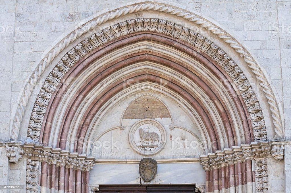 Church of St. Francesco. Orvieto. Umbria. Italy. stock photo
