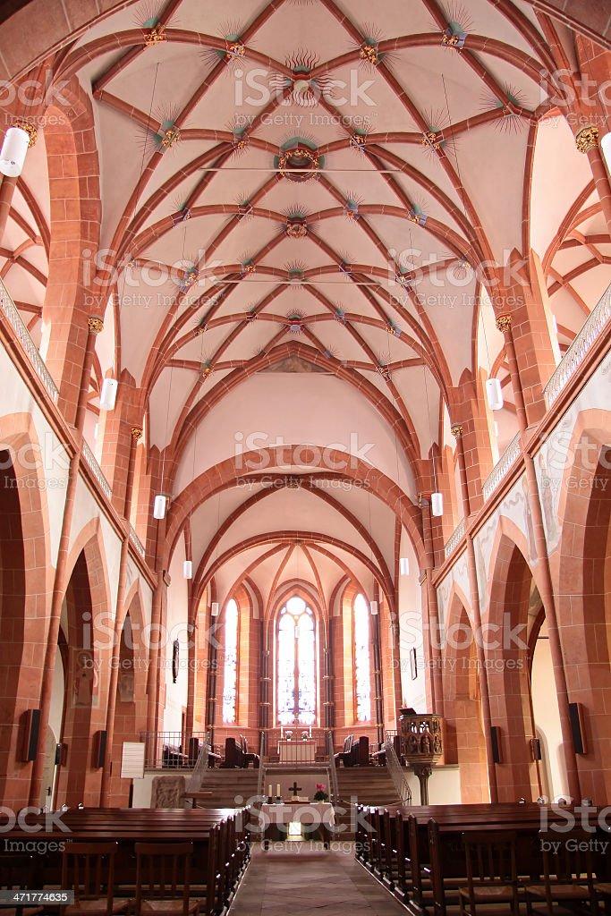 Church of St. Goar stock photo