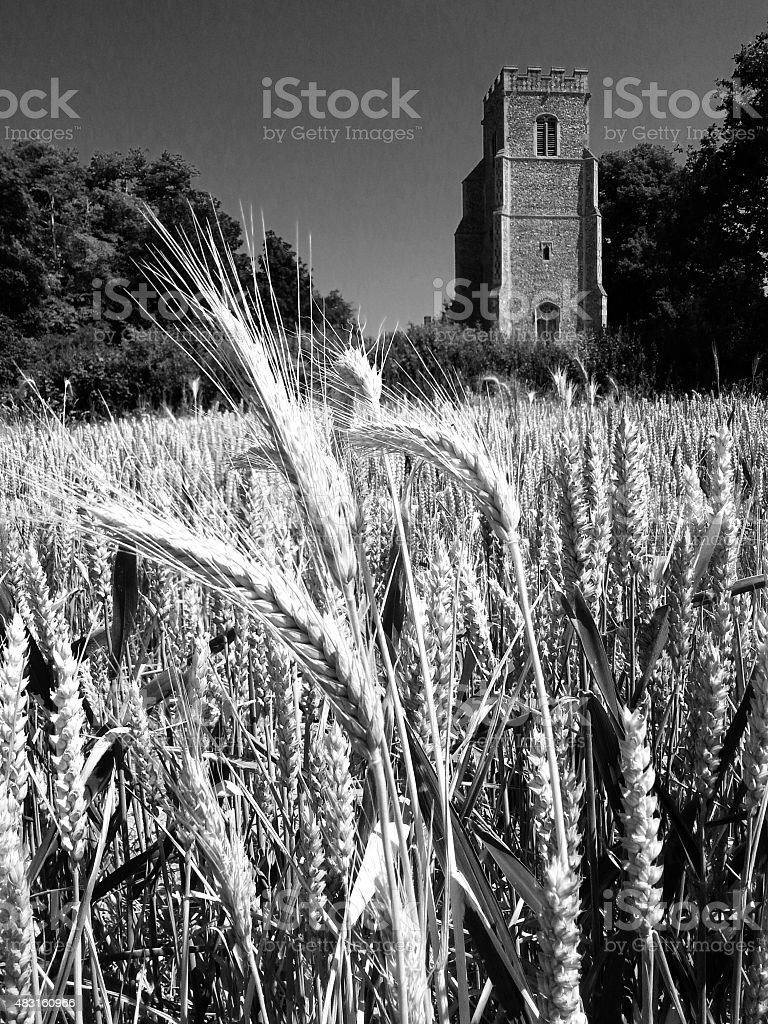 Church of St. Gregory the Great, Rendlesham, Suffolk stock photo