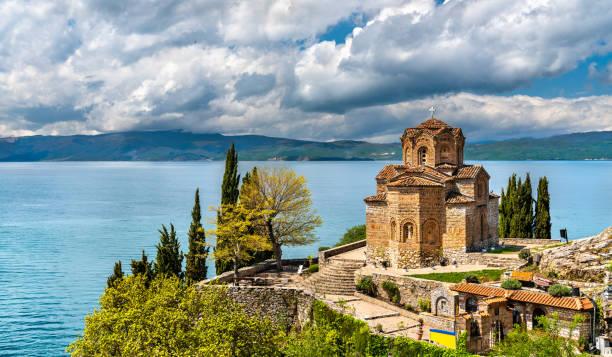 Kirche des Hl. Johannes in Kaneo - Ohrid, Mazedonien – Foto