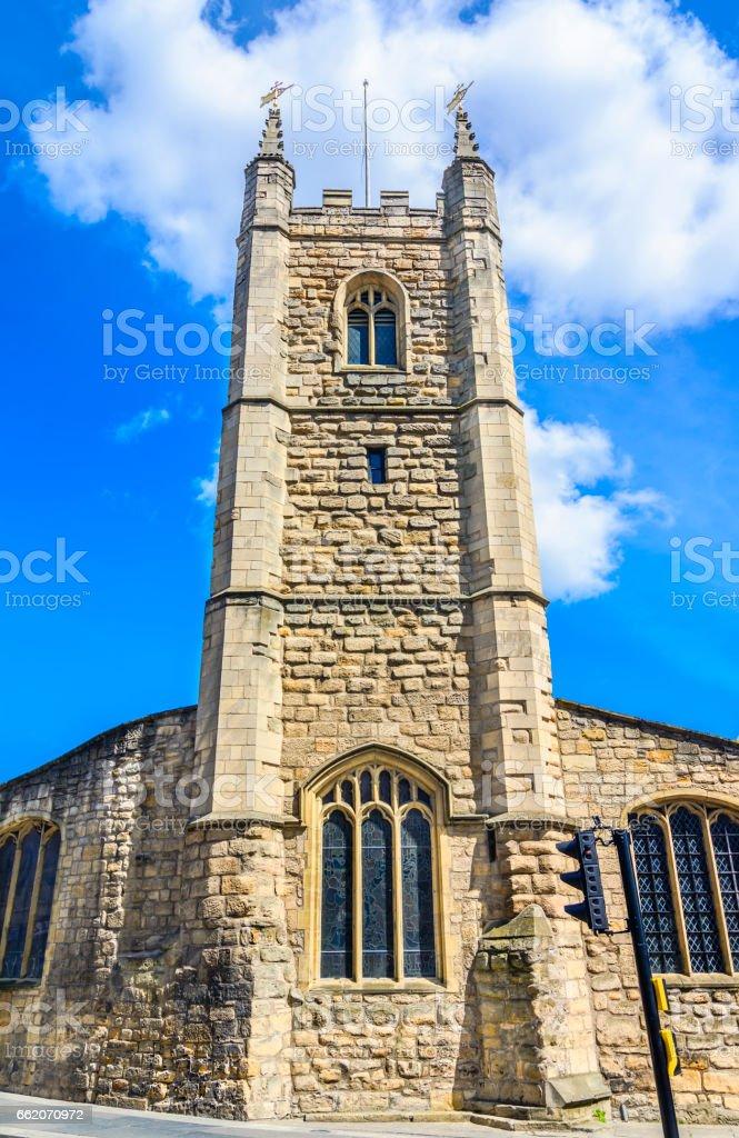 Church of St John the Baptist, Newcastle royalty-free stock photo