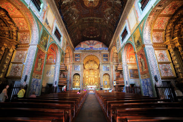 Church of St. John the Evangelist stock photo