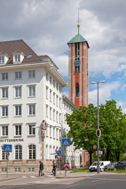 Church of St. Mark in Munich stock photo