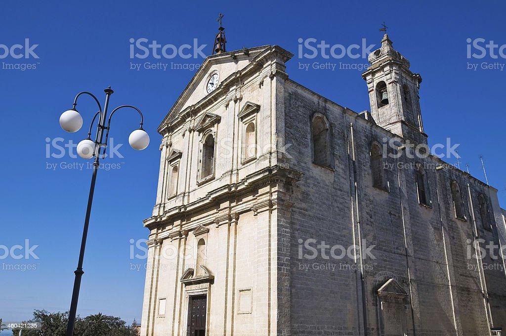 Church of St. Michele Arcangelo. Castellaneta. Puglia. Italy. stock photo