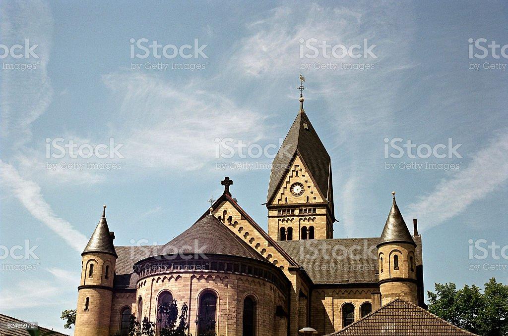 Church of St. Niklas royalty-free stock photo