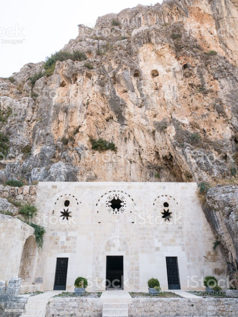 Church of St. Peter Antioch in Hatay ,Turkey stock photo