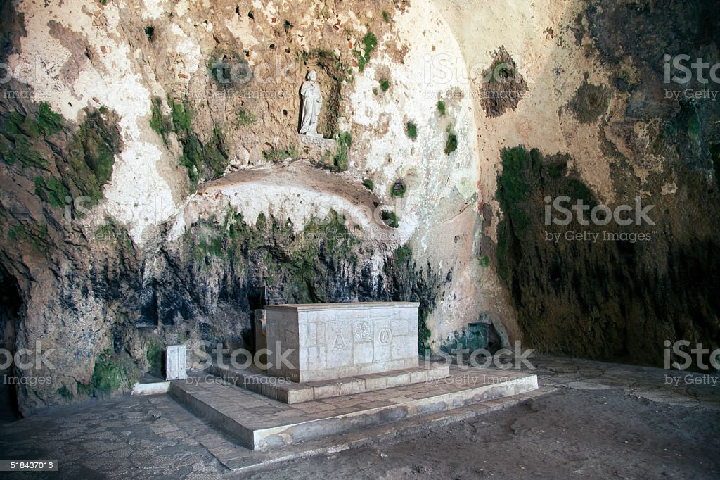 Church of St. Peter Antioch Turkey stock photo