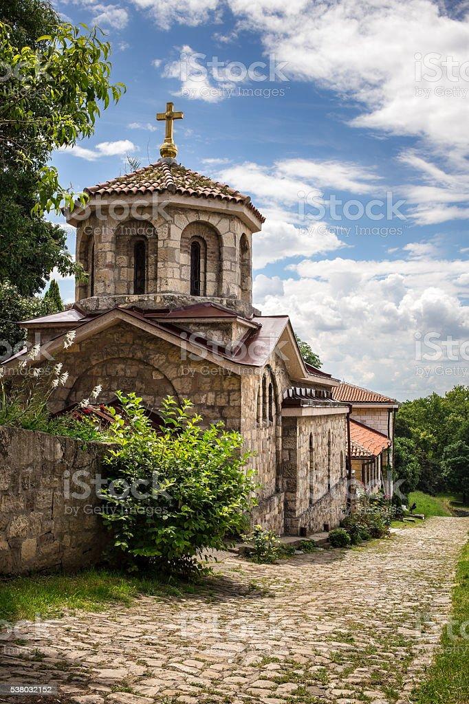 Church of St Petka at Kalemegdan fortress - Belgrade Serbia stock photo