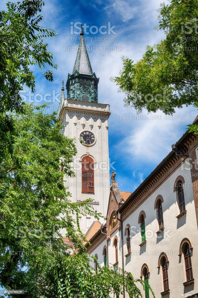 Church of St Stephen King in Sombor stock photo