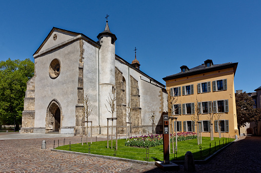 Church of St Theodule, Zion, Valais, Switzerland