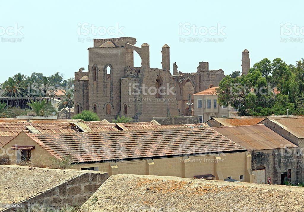 Church of Sts. Peter and Paul (1359), Famagusta stock photo