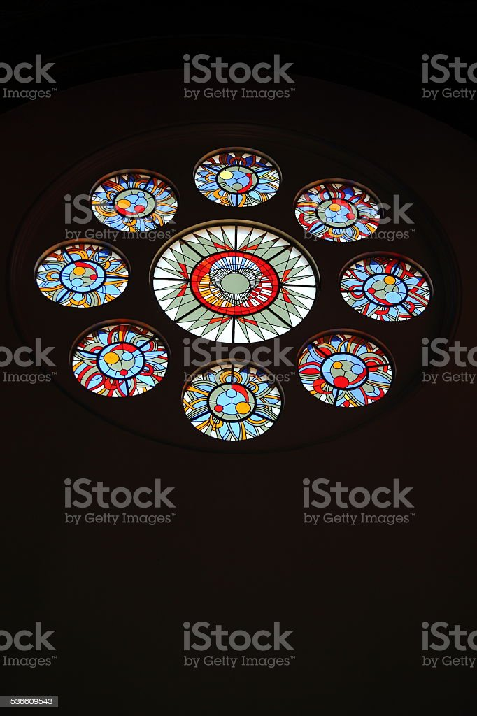 Church of Sts. Simon and St. Helena in Minsk stock photo