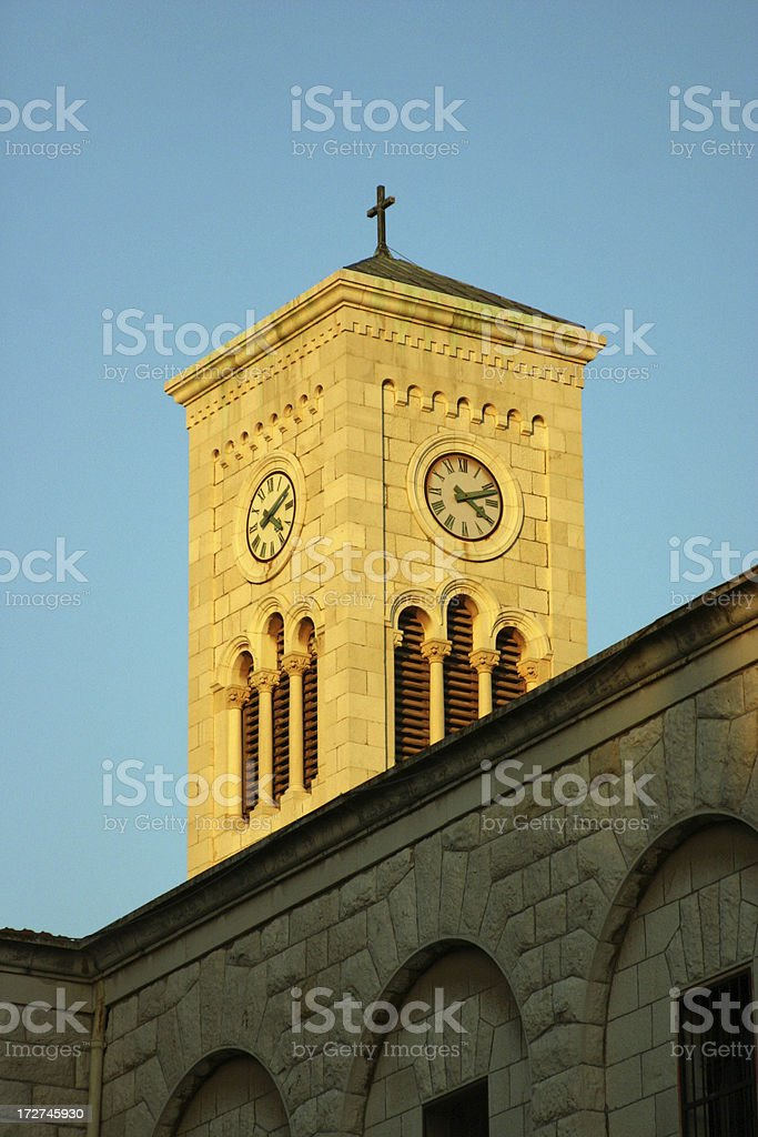 Church of the Annunciation, Nazareth, Israel royalty-free stock photo