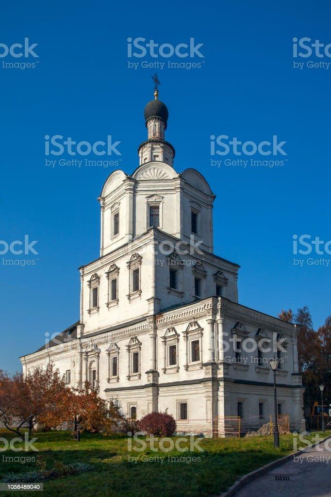 Kirche des Erzengels Michael in Andronikov Monastery, Moskau. – Foto