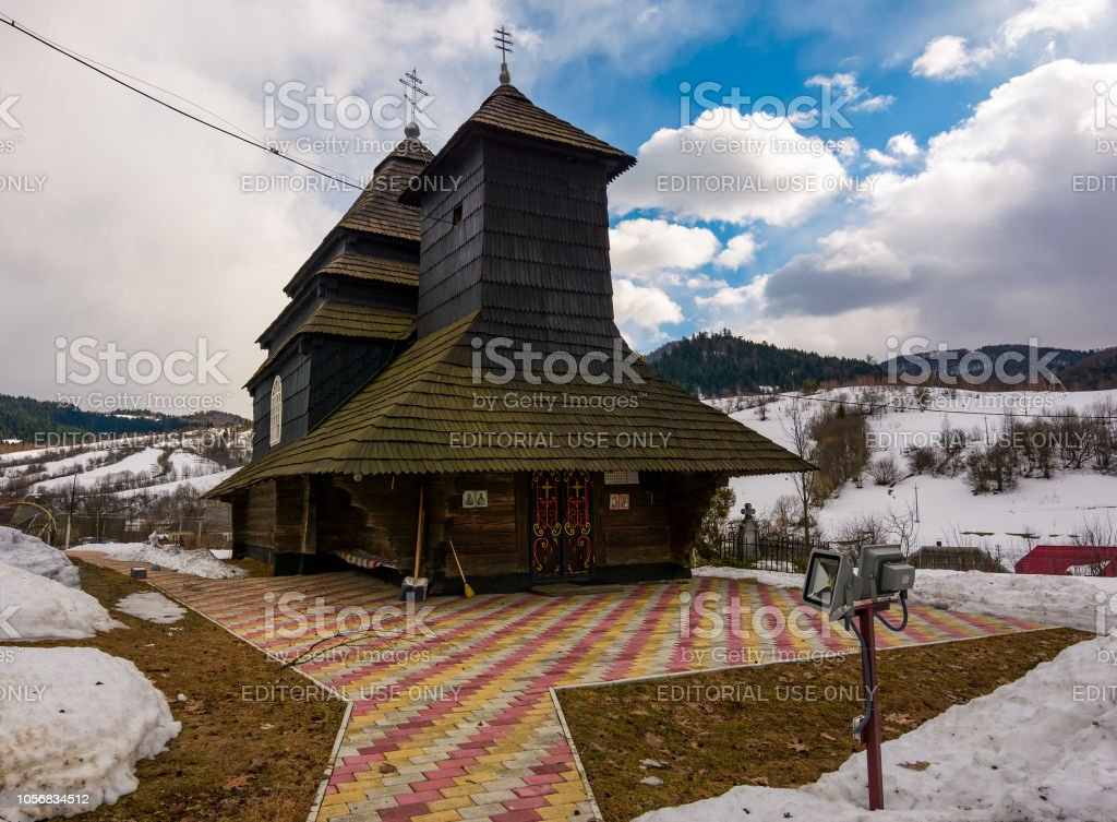 Kirche des Erzengels Michael, Uzhok, Ukraine – Foto