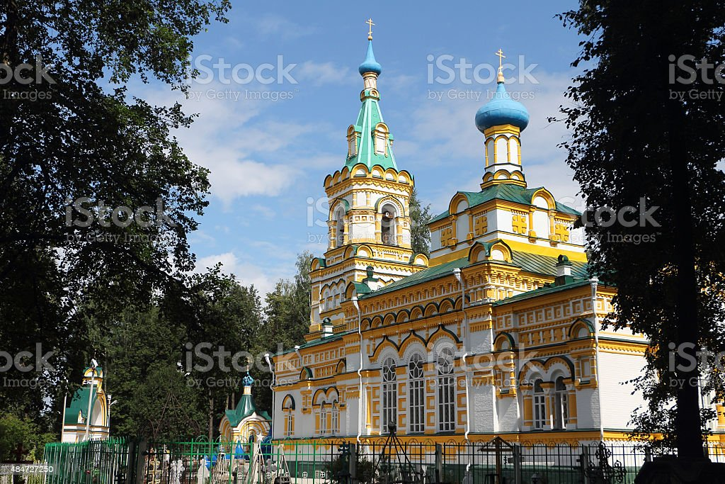 Church of the Assumption of the Blessed Virgin , Russia, Perm stock photo